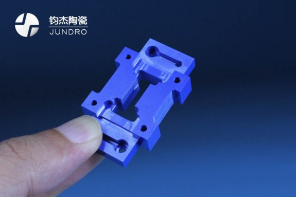 蓝色氧化锆结构件